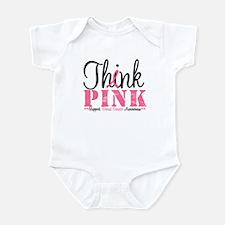 Think Pink Breast Cancer Infant Bodysuit