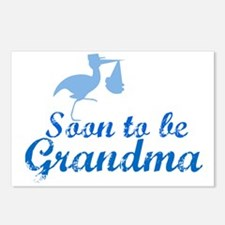 Soon to be Grandma Postcards (Package of 8)