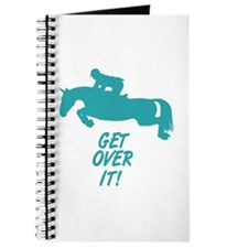 Get Over It Hunter Jumper Horse Journal