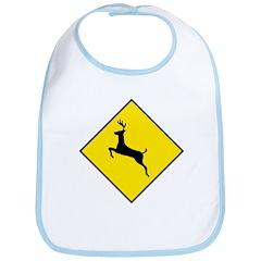 Deer Crossing Sign - Bib