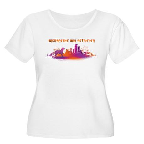 """City"" Chesapeake Bay Retriever Women's Plus Size"