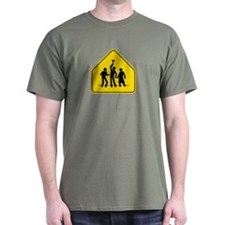 Beer Bong Road Sign T-Shirt
