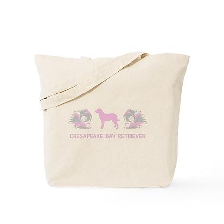 """Elegant"" Chesapeake Bay Retriever Tote Bag"
