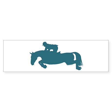 Get Over It Hunter Jumper Horse Bumper Sticker