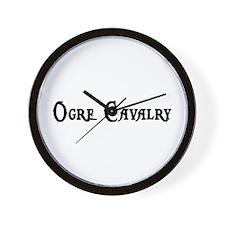 Ogre Cavalry Wall Clock