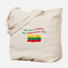 Perfect Lithuanian 2 Tote Bag