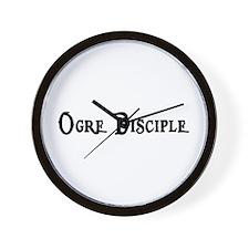 Ogre Disciple Wall Clock