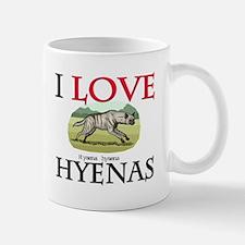 I Love Hyenas Mug
