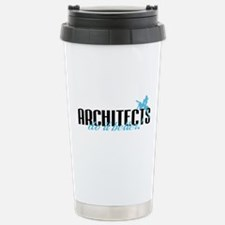 Architects Do It Better! Stainless Steel Travel Mu