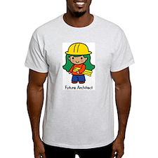 Future Architect - girl Ash Grey T-Shirt