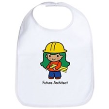 Future Architect - girl Bib