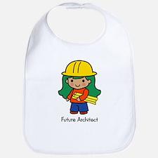 Future Architect - girl Bib