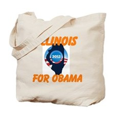 Chicago Obama Tote Bag