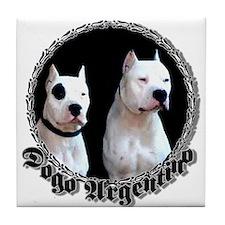 Dogo Argentino Tile Coaster