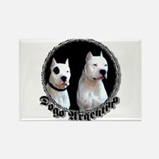 Dogo Argentino Rectangle Magnet