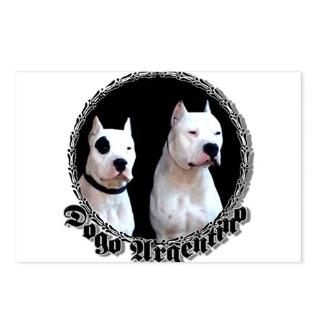 Dogo Argentino Postcards (Package of 8)