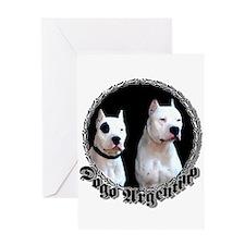 Dogo Argentino Greeting Card