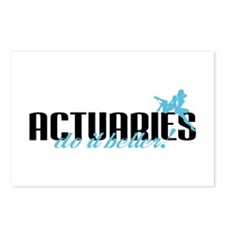Actuaries Do It Better! Postcards (Package of 8)