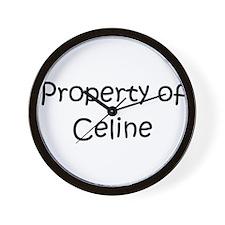 Unique Celine Wall Clock