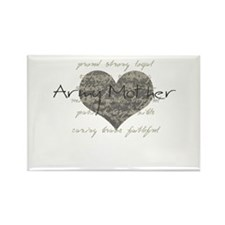 Army Mother Rectangle Magnet