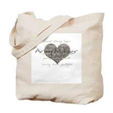 Army Mother Tote Bag