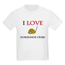 I Love Horseshoe Crabs T-Shirt