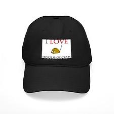 I Love Horseshoe Crabs Baseball Cap