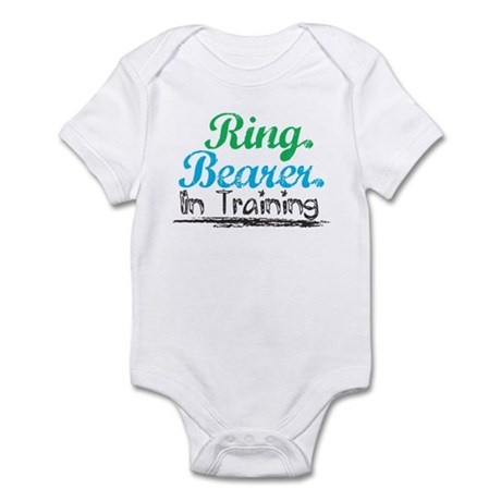 Ring Bearer In Training Infant Bodysuit