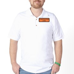 Construction Zone Sign T-Shirt