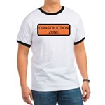 Construction Zone Sign Ringer T