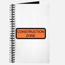 Construction Zone Sign - Journal