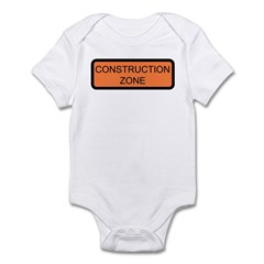 Construction Zone Sign - Infant Creeper