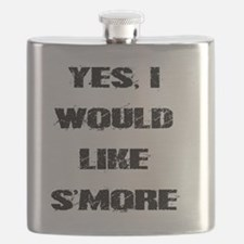 Funny Summer camp Flask