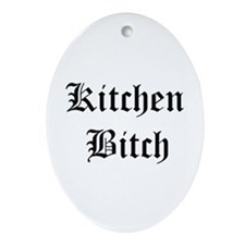 Kitchen Bitch Keepsake (Oval)