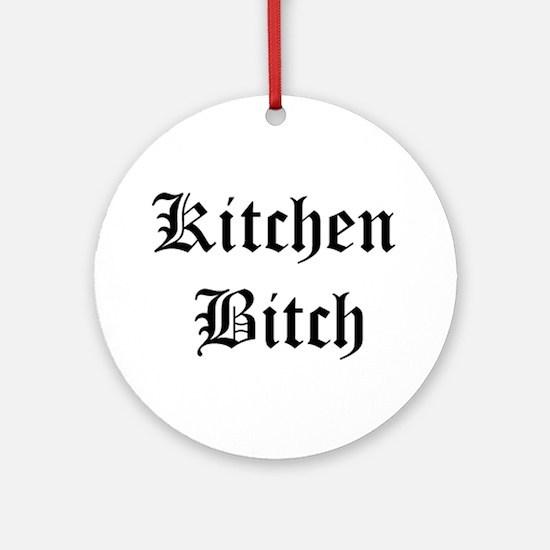 Kitchen Bitch Keepsake (Round)