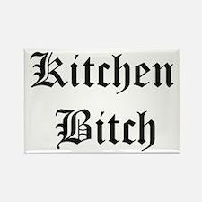 Kitchen Bitch Rectangle Magnet