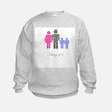 Army of 4 (2 boys) Sweatshirt