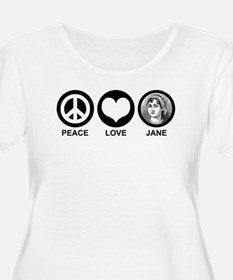 Peace Love Jane T-Shirt