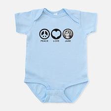 Peace Love Jane Infant Bodysuit