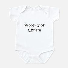 Cute Christa Infant Bodysuit