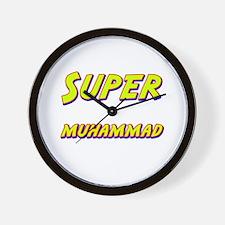Super muhammad Wall Clock