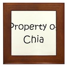 Funny Property Framed Tile