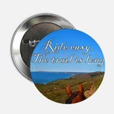 """Ride easy trail horse 2.25"""" Button"""