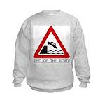 Cliff - End of the Road Kids Sweatshirt