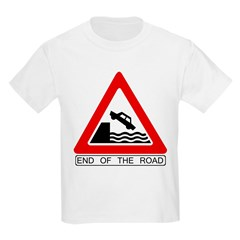 Cliff - End of the Road Kids T-Shirt