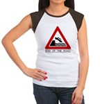 Cliff - End of the Road Women's Cap Sleeve T-Shirt