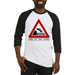 Cliff - End of the Road Baseball Jersey