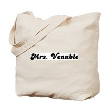 Mrs. Venable Tote Bag