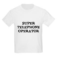SUPER TELEPHONE OPERATOR Kids T-Shirt