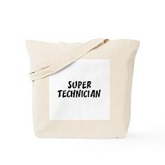 SUPER TECHNICIAN Tote Bag